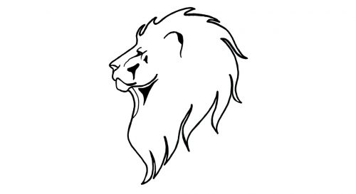 temporary tattoo lion inktion